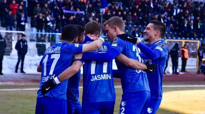 Erzurumspor'da Ankaragücü maçı hazırlıkları başladı